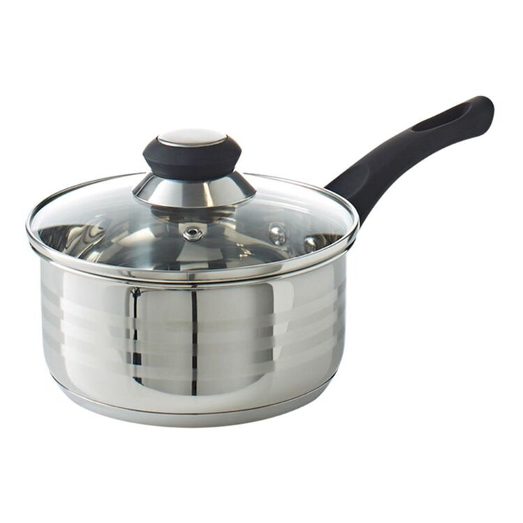 SMITH & NOBEL Traditions Stainless Steel Saucepan 16cm