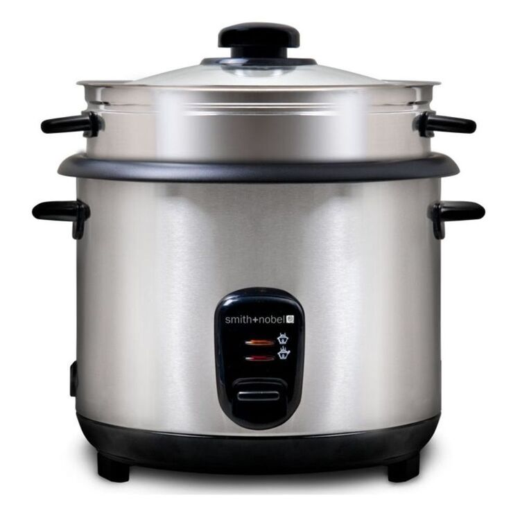 SMITH & NOBEL 10 Cup Rice Cooker With Steamer