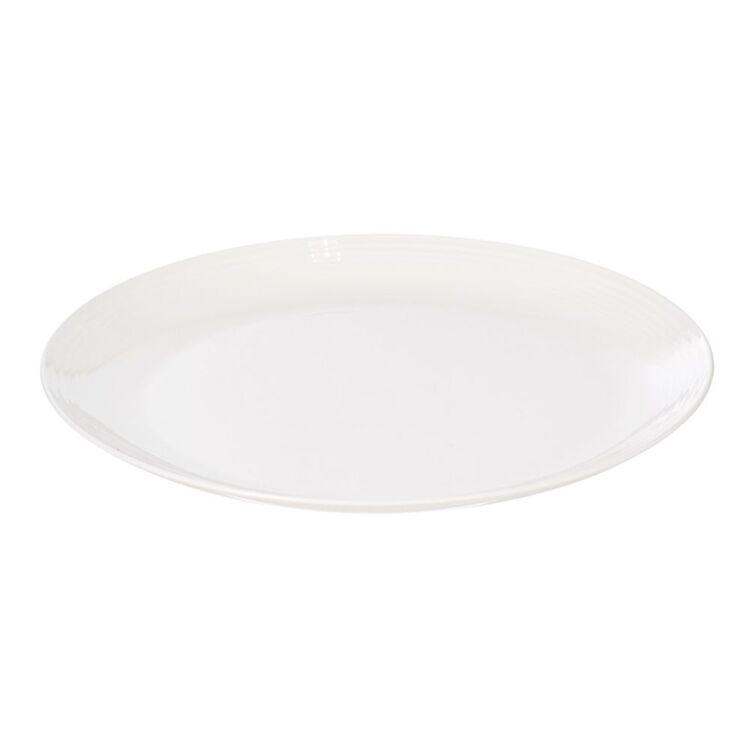 SHAYNNA BLAZE Harbour Dinner Plate White 27.5cm