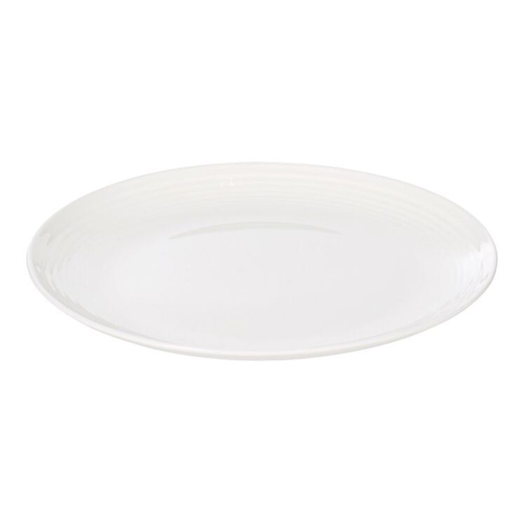 SHAYNNA BLAZE Harbour Side Plate White 21.5cm