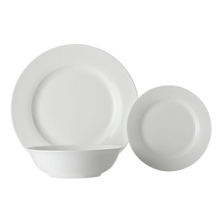 MAXWELL & WILLIAMS White Basic European 12pc Dinner Set