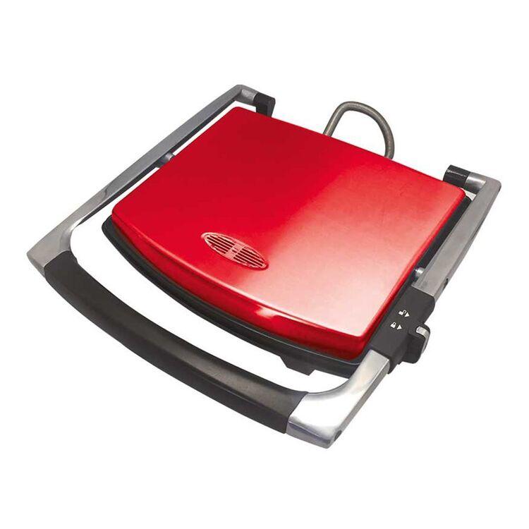 SMITH & NOBEL 4 SLICE SNACK MAKER RED HSP-8031-RD