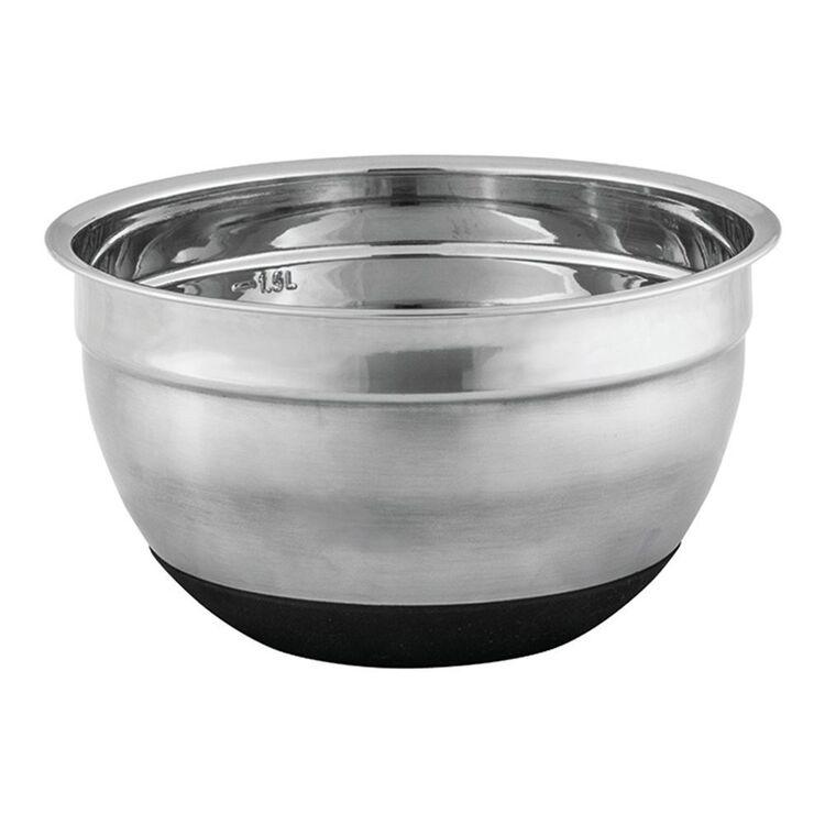 AVANTI Avanti Anti-Slip Mixing Bowl 18cm Stainless Steel/Silicone