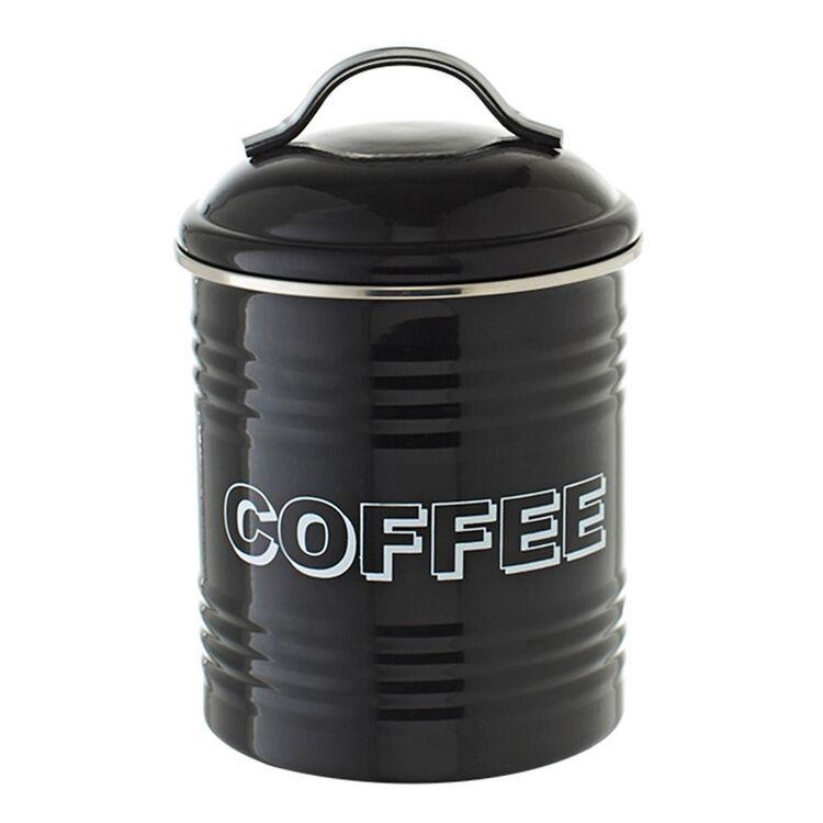 SMITH & NOBEL RETRO CANISTER COFFEE BLACK