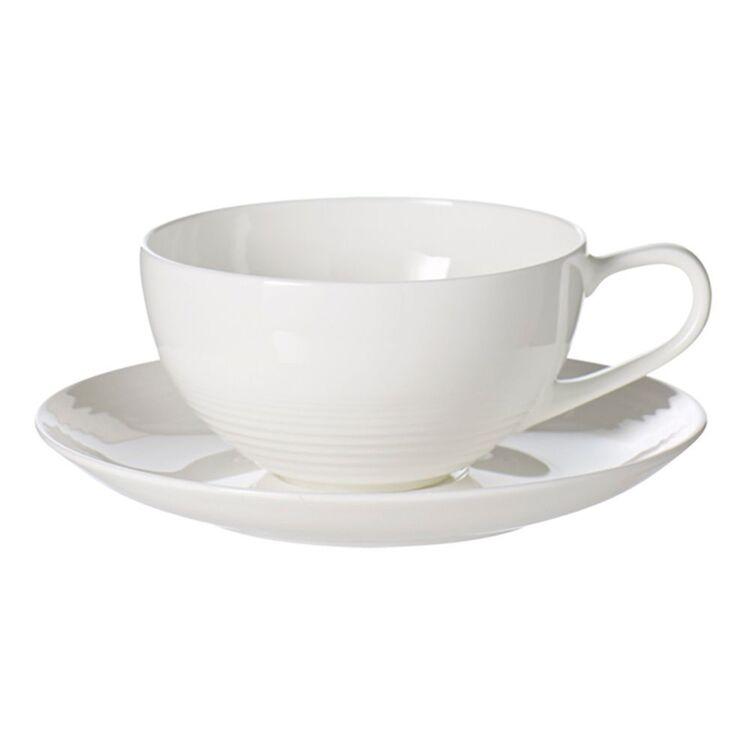 SHAYNNA BLAZE Harbour Teacup and Saucer White 220ml