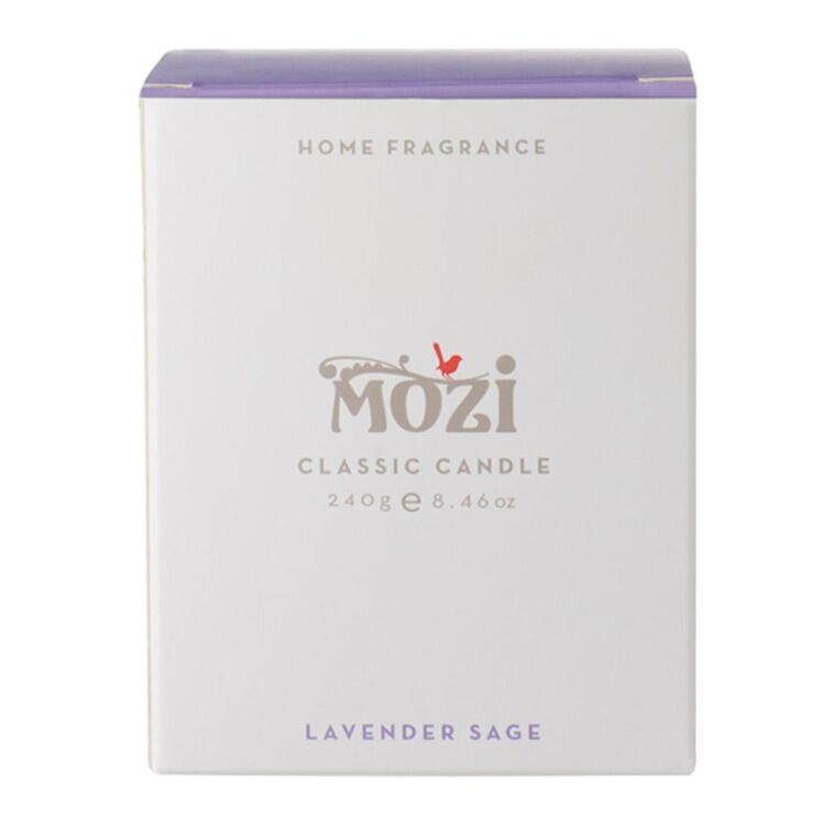 MOZI Classic Lavender Sage Candle 240g