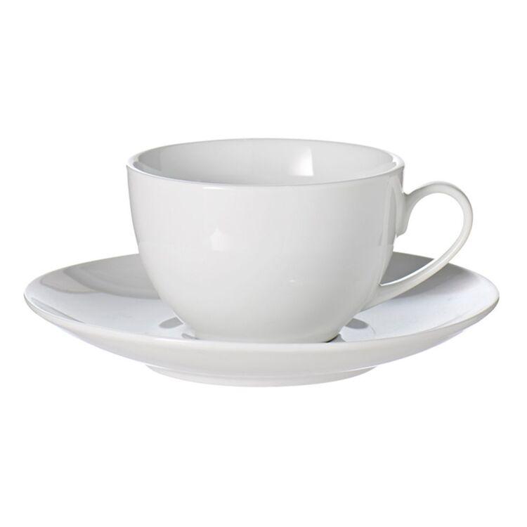 SOREN Alton Tea Cup Saucer 220ml White