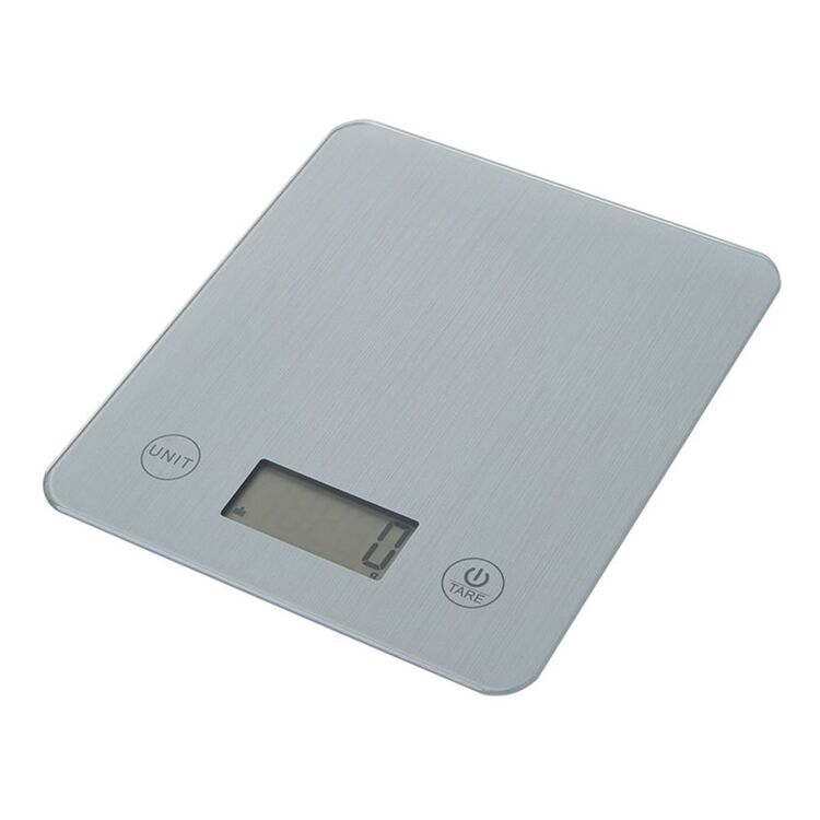 SMITH & NOBEL Digital Kitchen Scale 10kg Silver