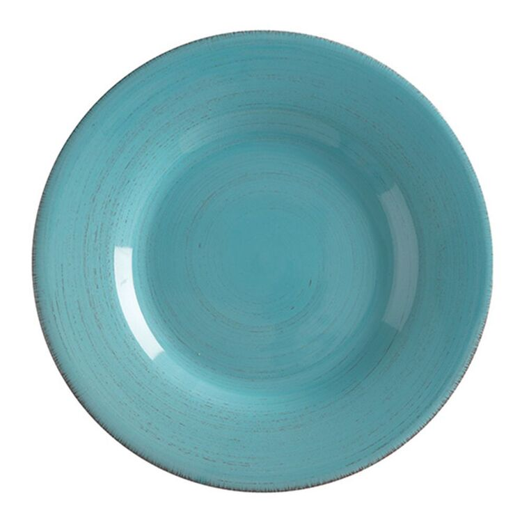CASA DOMANI Portofino Turquoise Dinner Plate 28cm