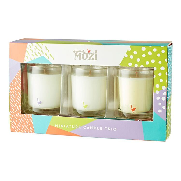 MOZI Classic Mini Candle Trio