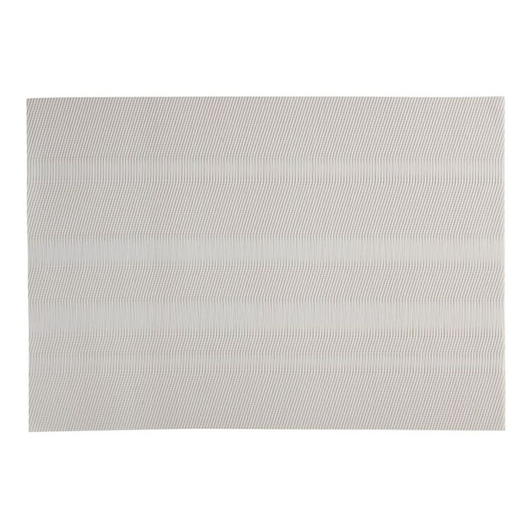 MAXWELL & WILLIAMS PLACEMAT 45X30CM LOOM WHITE