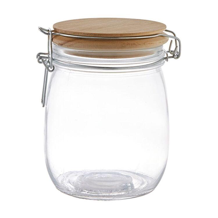 SMITH & NOBEL VOYAGE GLASS CLIP TOP JAR 750ML