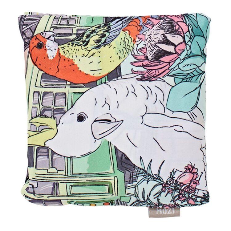 MOZI Australiana Foldable Shopping Bag