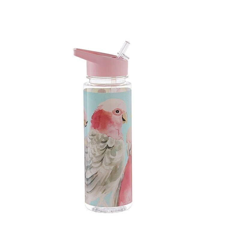 MOZI Plastic Flip Lid Bottle Galah 600ml