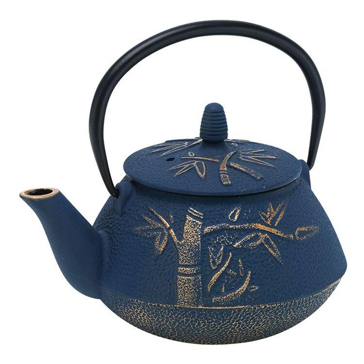 AVANTI Bamboo Cast Iron Teapot 800ml