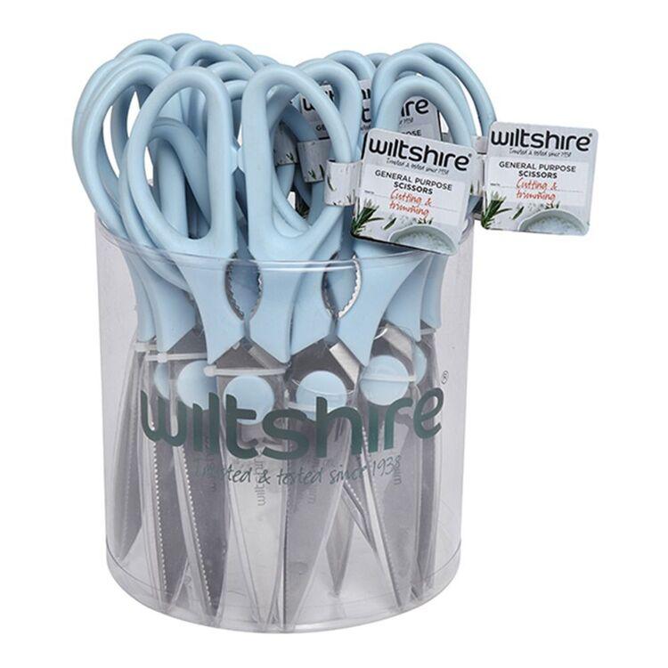 WILTSHIRE Impulse Stainless Steel Scissors Blue