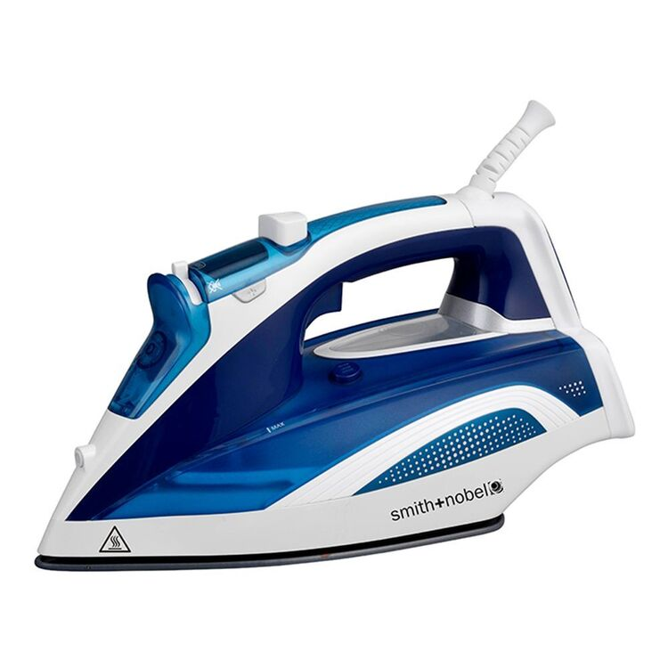 SMITH & NOBEL LCD Display Steam Iron