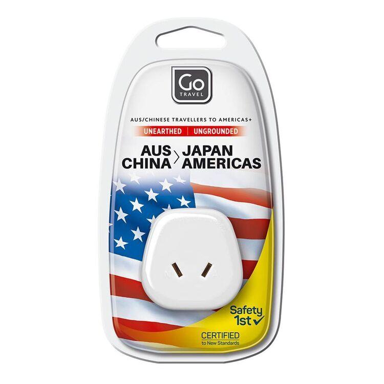 GO TRAVEL AUS - USA/JAPAN Adaptor