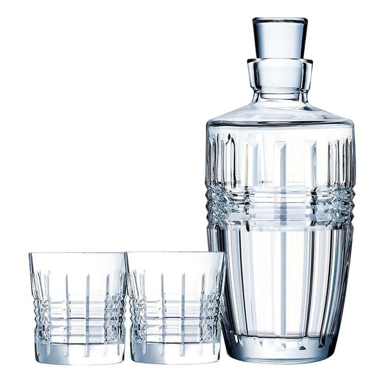 CRISTAL D'ARQUE Rendez-Vous Whisky Set 3pc