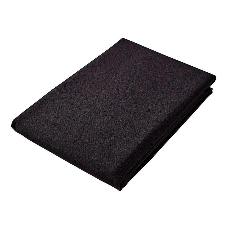 JUST HOME CUISINE TABLECLOTH 150X260CM BLACK