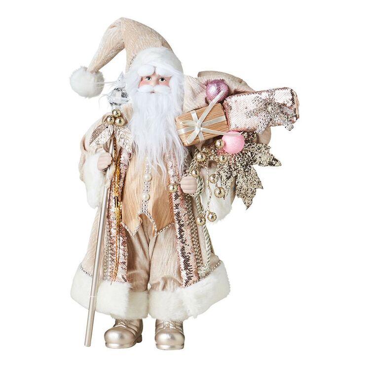 SOREN Winter Wonderland Santa 45cm