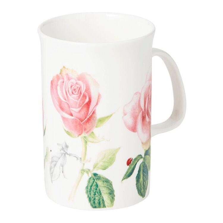 ASHDENE Botanical Floral Rose Mug