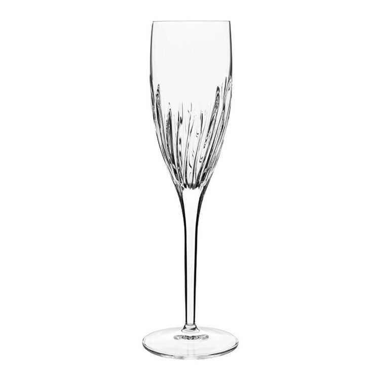 LUIGI BORMIOLI Incanto 6pc Flute Glass Set