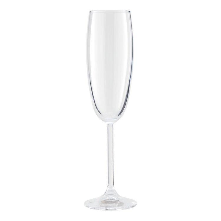 CASA DOMANI Taverna 6pc Flute Glass Set 220ml