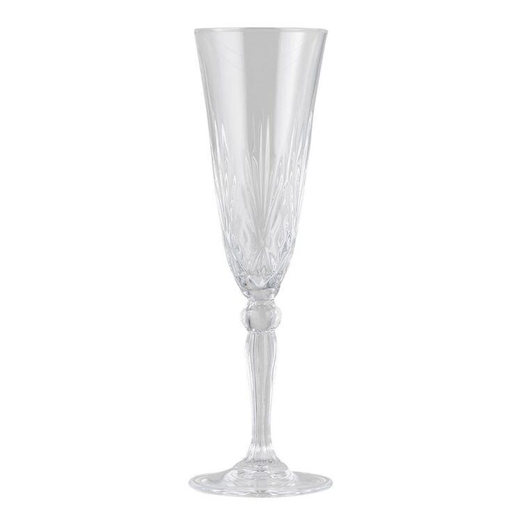RCR Melodia 6pc Champagne Flute Set