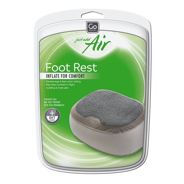 GO TRAVEL Inflatable Super Soft Foot Rest