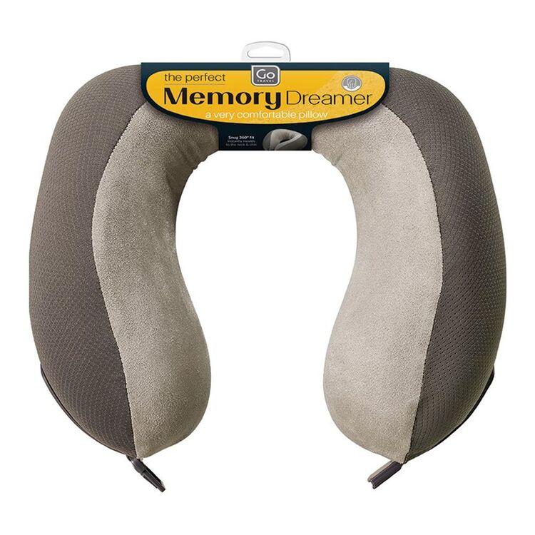 GO TRAVEL Memory Dreamer Foam Pillow