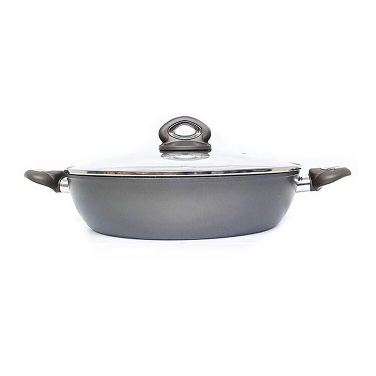 BIALETTI Piu Gusto Grey Chefs Pan 32cm