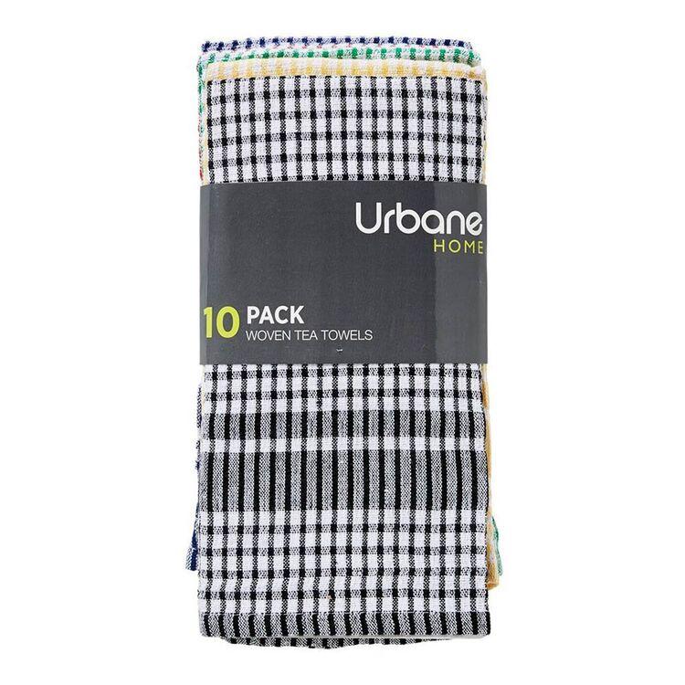 URBANE HOME Tea Towel 10pc Set