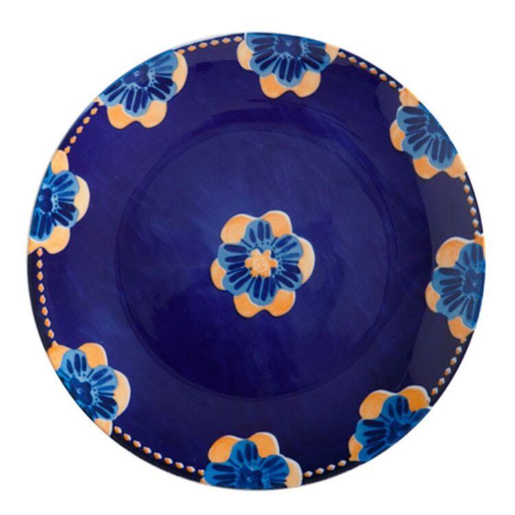 MAXWELL & WILLIAMS Majolica Dinner Plate 26.5cm Ink Blue