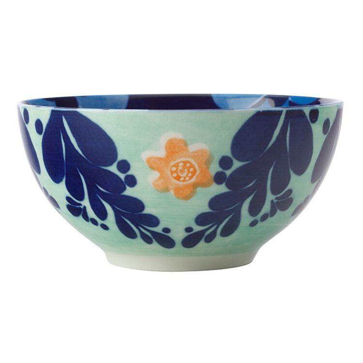 MAXWELL & WILLIAMS Majolica Bowl 12.5cm Ink Blue