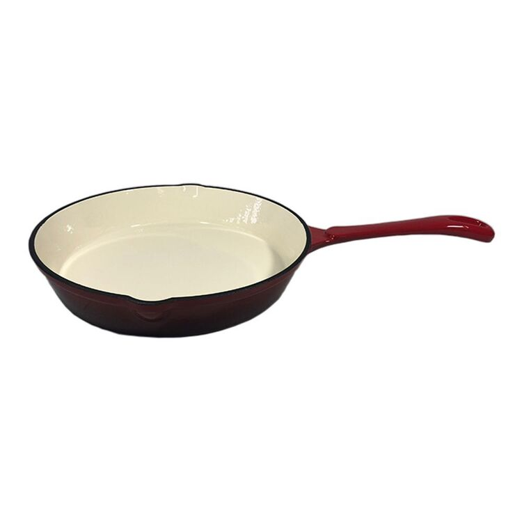 SMITH & NOBEL TRADITIONS 26CM FRYPAN RED