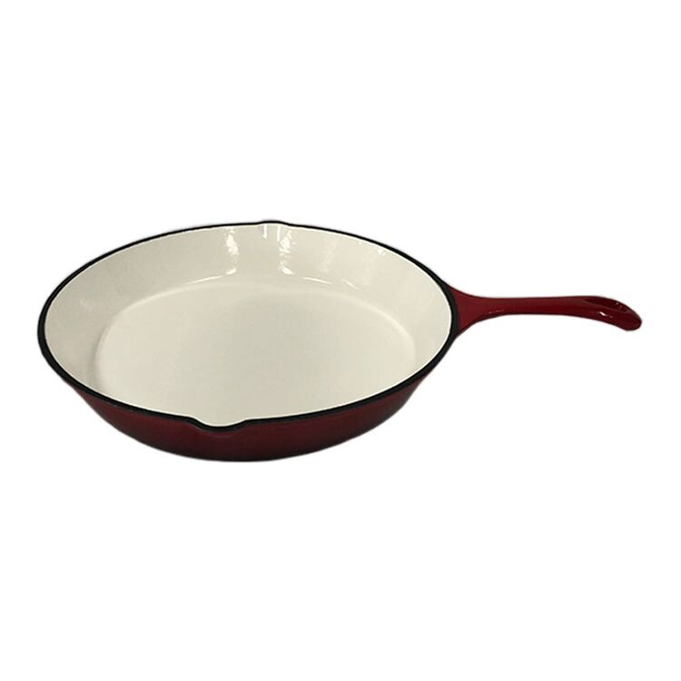 SMITH & NOBEL TRADITIONS 30CM FRYPAN RED