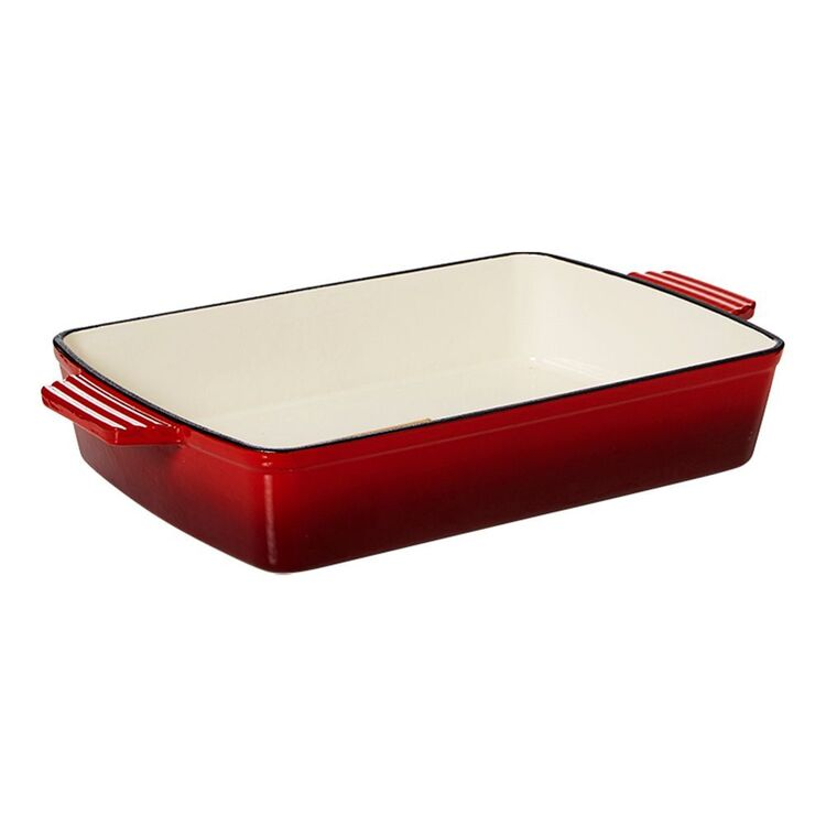 SMITH & NOBEL TRADITIONS RECTANGLE ROASTER RED