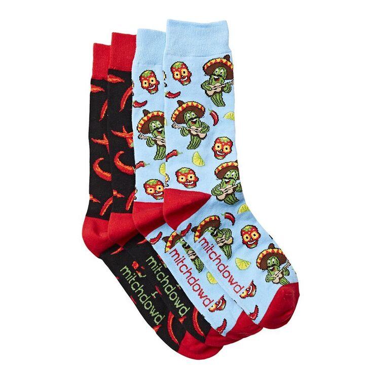 MITCH DOWD 2pk Fiesta and Chillis Socks