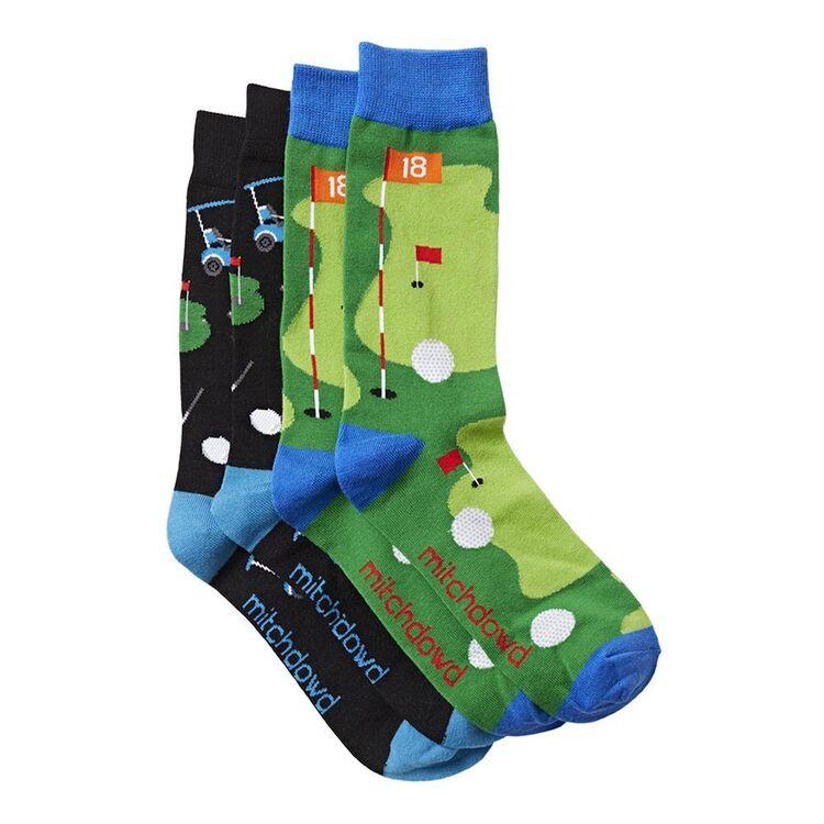 MITCH DOWD 2pk Golfer Socks