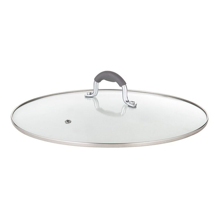 Davis And Waddell DAVIS AND WADELL GLASS LID WITH SILCONE HANDLE 30CM
