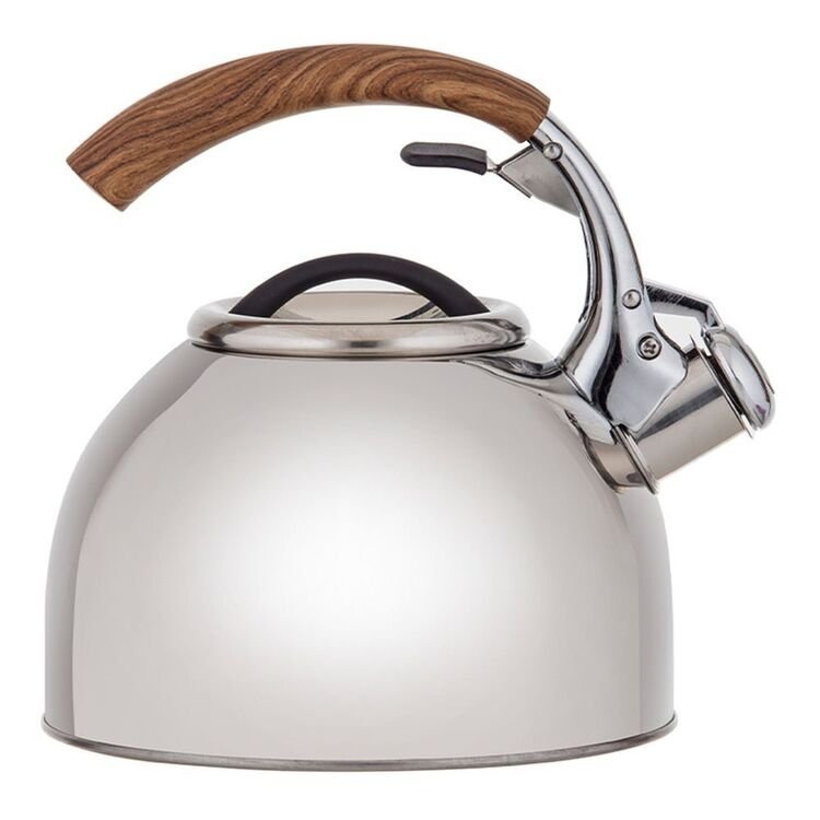 HEIRLOOM GOODS STAINLESS STEEL STOVE TOP KETTLE 2.5L