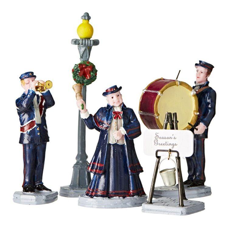 LEMAX Christmas Band Set of 5