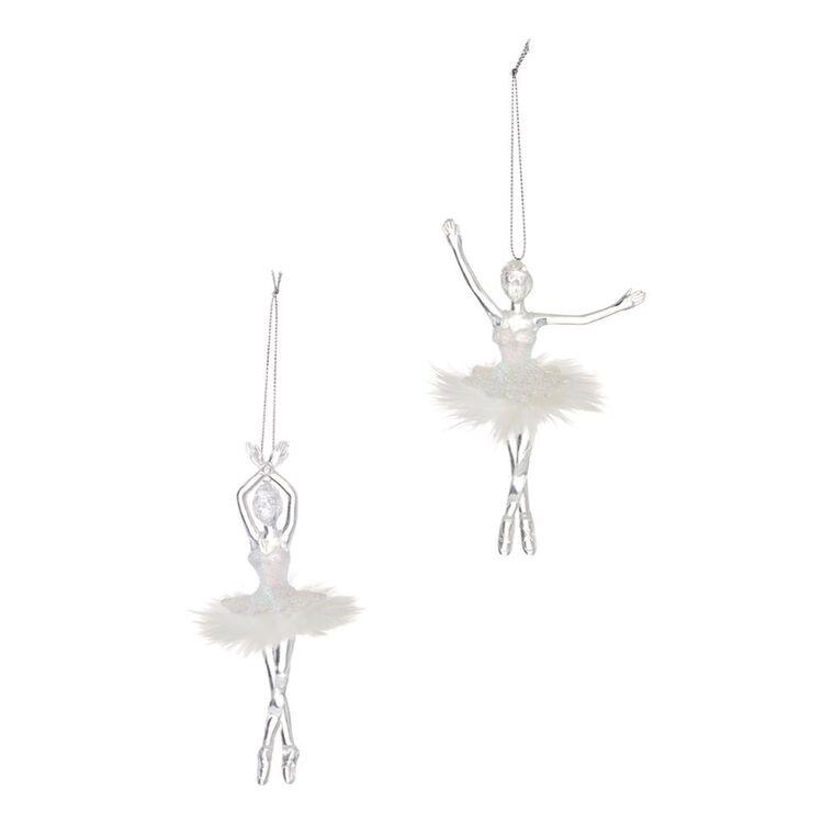 SOREN 2pc Ballet Girls Ornament