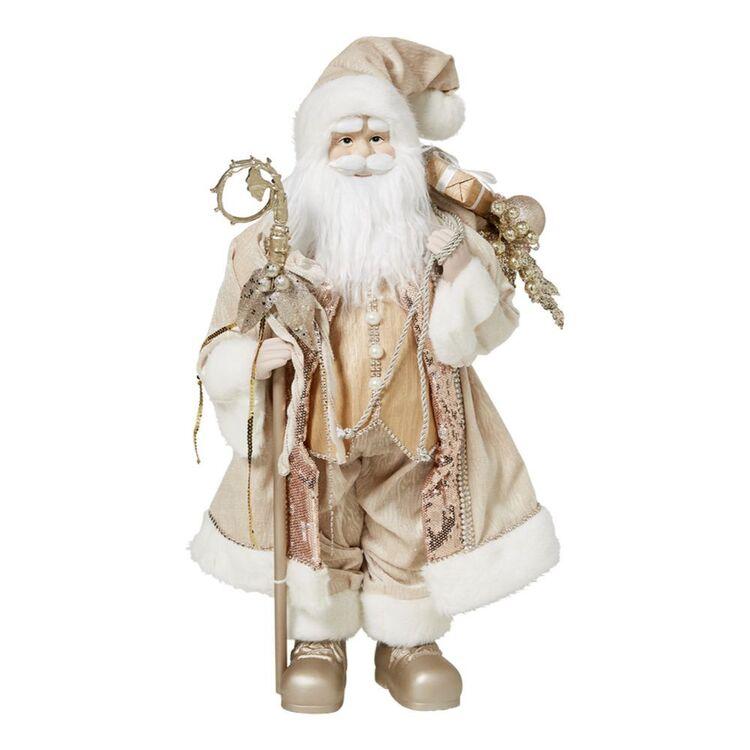 SOREN Winter Wonderland Santa 68cm