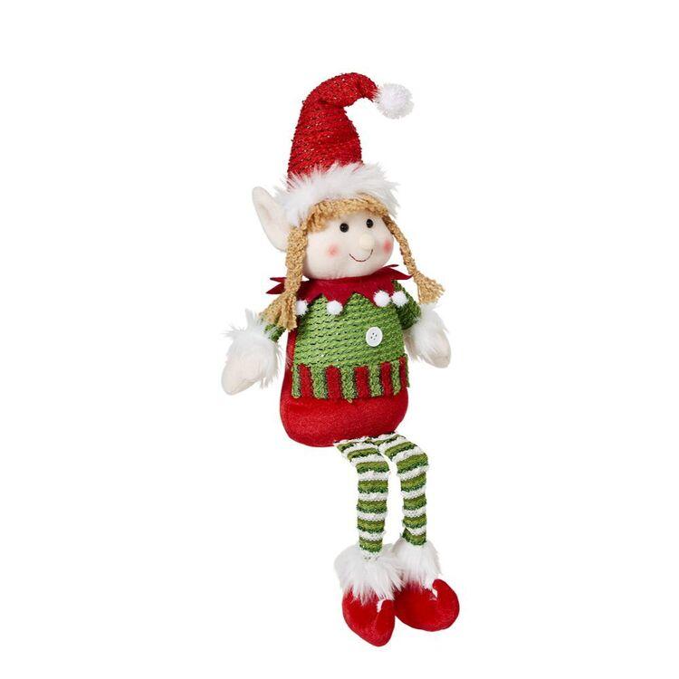 SOREN Sitting Elf with Red Hat 50cm