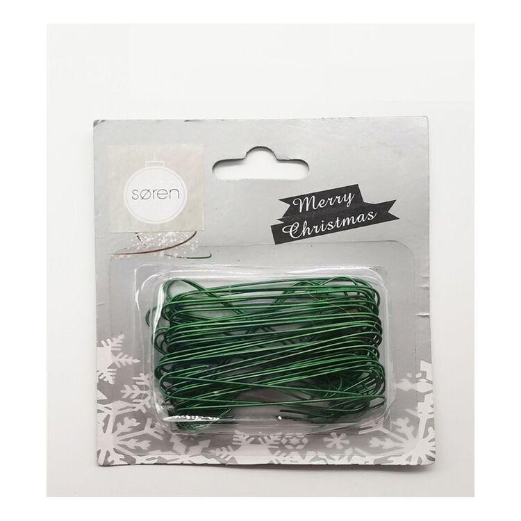 SOREN 50pc Green Bauble Hooks Large