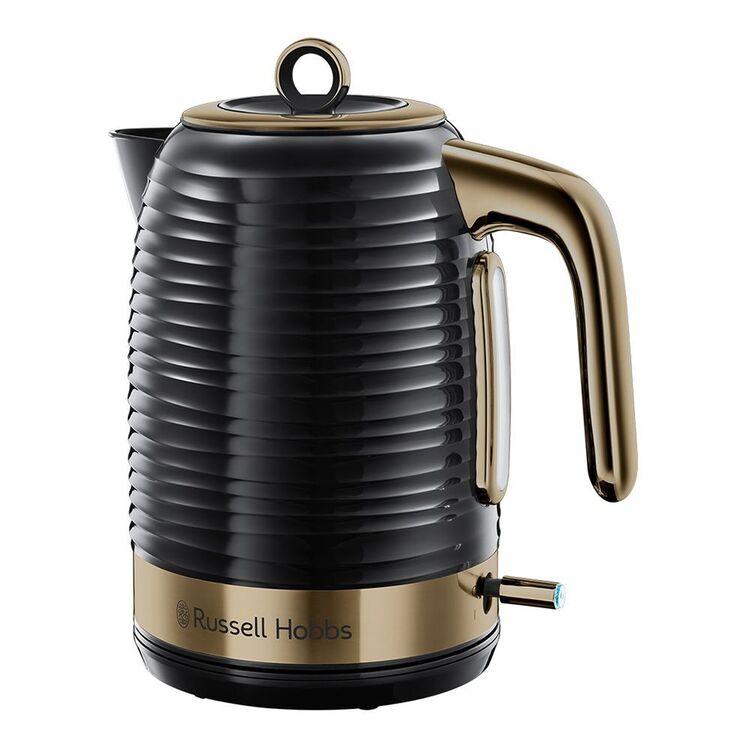 RUSSELL HOBBS Inspire Kettle Black Brass