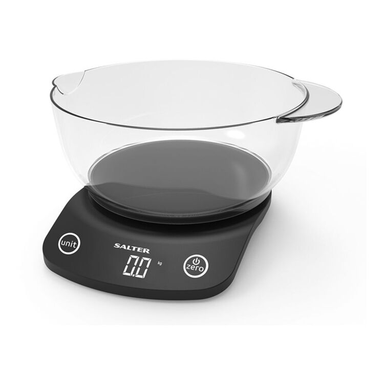 SALTER Vega Kitchen Scale with Bowl 5kg