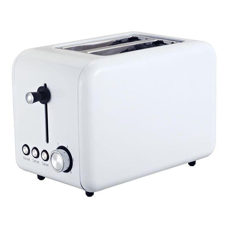 SMITH & NOBEL 2 Slice Toaster White